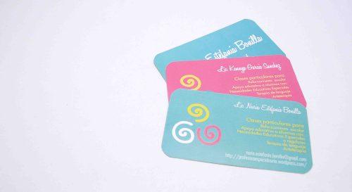 Tarjetas de presentación - Business cards
